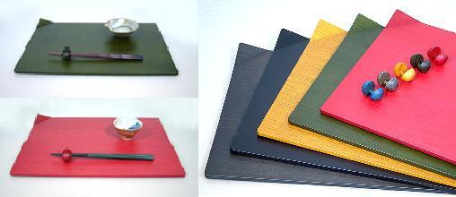 テーブルウェア…ランチプレート&箸置き…